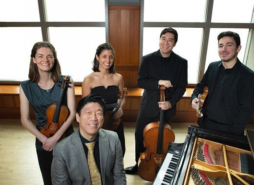 Curtis on Tour: Vera Quartet and pianist Meng-Chieh Liu