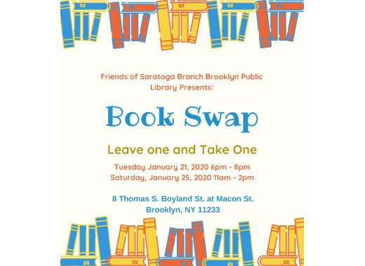 Friends of Saratoga Library Book Swap