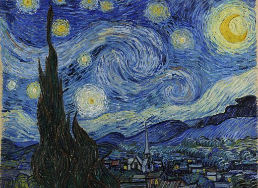Kids Create: Van Gogh's Starry Night
