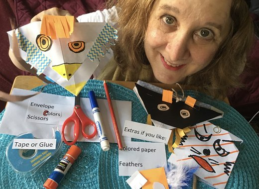 Summer Reading: Puppet Making with Circus Artist Laine Barton