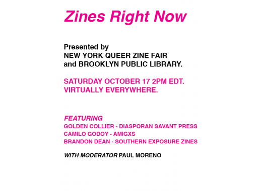 Zines Right Now