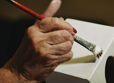 Art forms. Painting Class for Older Adults