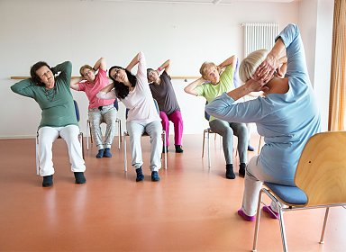Positive Aging: Low Impact Exercise.