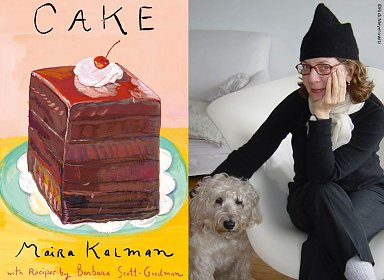 Meet Maira Kalman! Square Dance Sunday Book Signing featuring Cake and Max the Dog