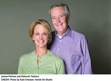 "James and Deborah Fallows present ""Our Towns"" with David Brooks"