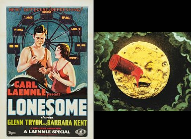 Silent Movie Matinee: Lonesome (1928) & A Trip to the Moon/Le Voyage dans la lune (1902)