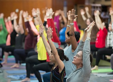 Yoga and Poetry at Brooklyn Public Library