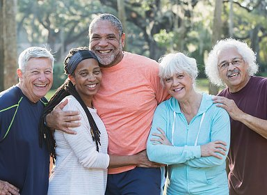 Positive Aging. Older Adults Open House