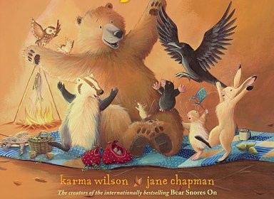 Book Adventures : Bear Gives Thanks by Karma Wilson
