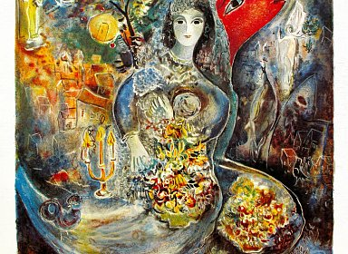Music Therapy. Marc Chagall Phantasy: Art/Music/Lyrics (In Russian)