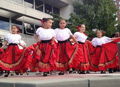 Hispanic Heritage Month Celebration: Calpulli Mexican Dance Company