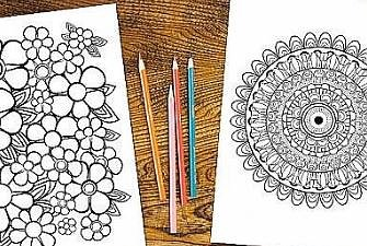 Adult Stress Relief Coloring