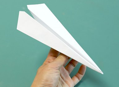 Library Lab: Paper Airplanes