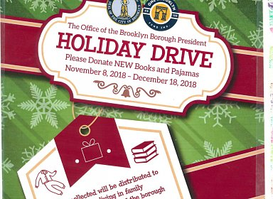 Books & Pajamas Holiday Drive