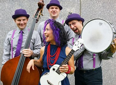 Jack and Friends Family Music Series: Lucy Kalantari and the Jazz Cats