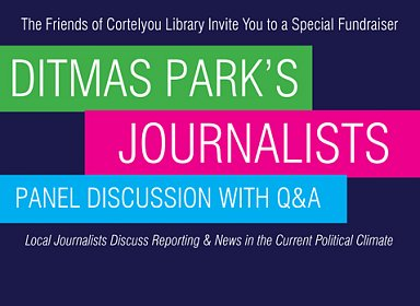 An Afternoon with Ditmas Park Journalists