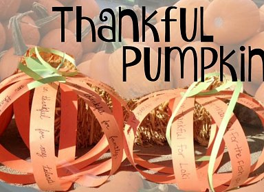 Kids Create: Thankful Pumpkins