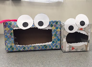 Kids Create: Tissue Box Monsters