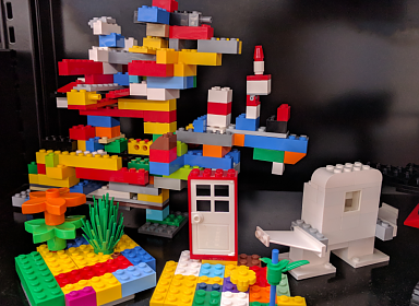 Build with LEGO