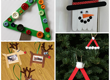 Kids Create: Holiday Crafts