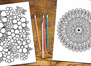 Coloring for Adults!