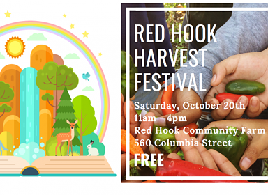 Saturday Storytime: Red Hook Harvest Festival