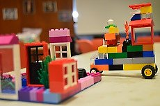 example of a child's lego creation