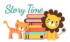 Saturday Storytime (birth to 5) - in the kids area upstairs