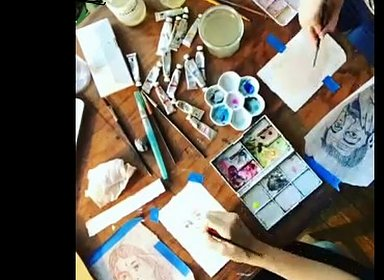 Watercolor Portraiture Workshop