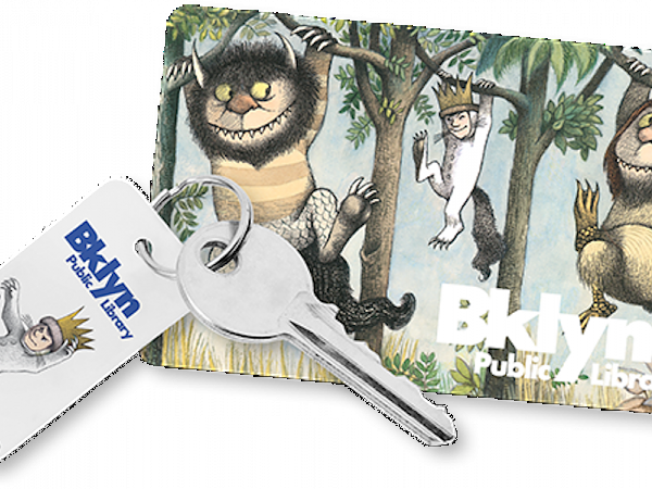 Wild things library card