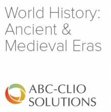 World History: Ancient and Medieval Eras logo