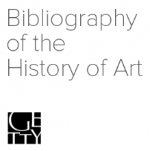 Bibliography of the History of Art logo