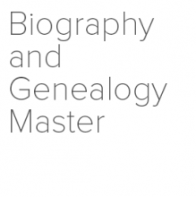 Biography and Genealogy Master Index logo
