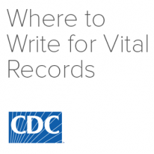 Where to Write for Vital Records logo