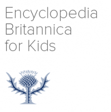 Encyclopedia Britannica Online for Kids logo
