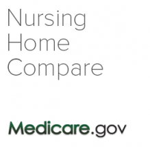 Nursing Home Compare logo