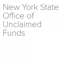 New York State Office of Unclaimed Funds logo