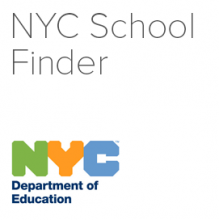 New York City Department of Education's Find A School Database logo