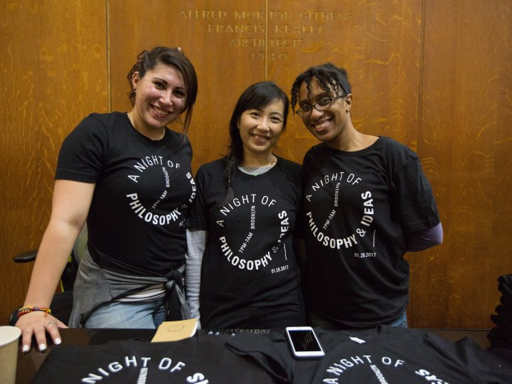 Volunteers at Night of Philosophy and Ideas